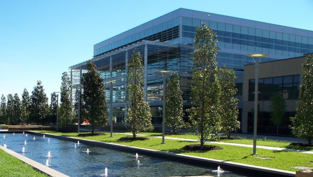 LEED certified UT Dallas Student Service Building