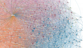Data visualization of LinkedIn connections