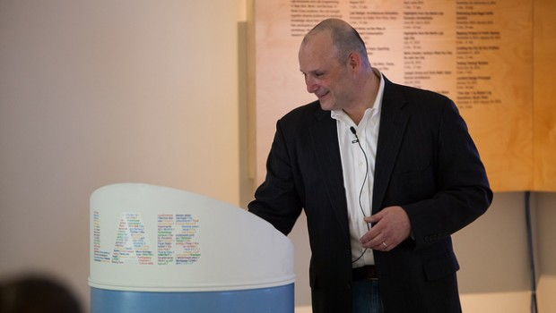 Former New York City Director of Analytics Michael Flowers. Photo by Flickr user BMW Guggenheim Lab.