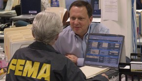 Former deputy director of FEMA, Michael Brown, whose unfortunate hiring might have been prevented by data-driven recruiting. FEMA Photo: Michael Rieger