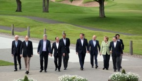G8 leaders meet in Northern Ireland for the 2013 summit.