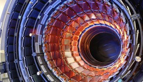 Part of CERN's Large Hadron Collider. CERN has two important new data initiatives in the works.