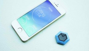 Rise, a wearable technology that tracks users' sitting habits.