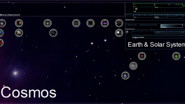 A screenshot from ChronoZoom.
