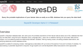 BayesDB announces alpha release.