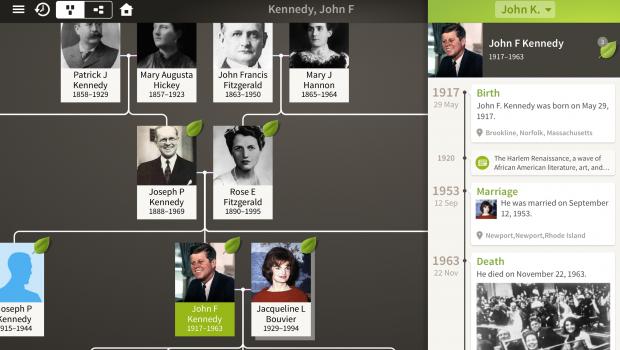 Ancestry.com mobile app