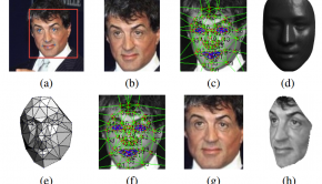 A screenshot from Facebook's 'DeepFace' research paper.