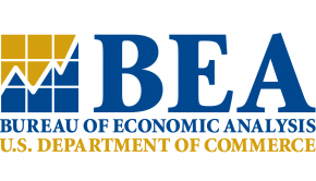 The Bureau of Economic Analysis logo
