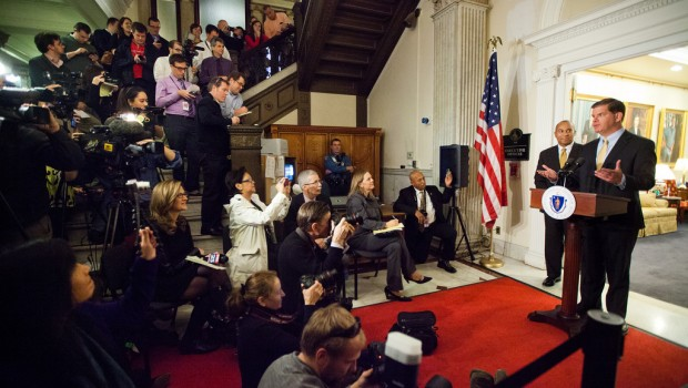 Boston Mayor Martin Walsh announced an executive order on open data this week.