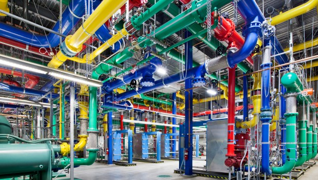 Google uses machine learning to optimize its data centers.