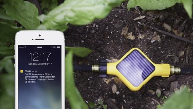 Edyn's garden sensor.