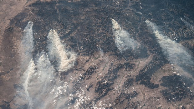 Wildfires in Idaho.
