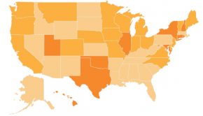 Map of Open Data Scores