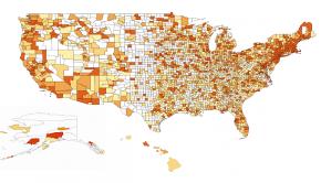 "A map of Wikipedia edit ""data deserts"""