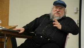 "A researcher has applied advanced statistics to predict what characters will die in author George R.R. Martin's (pictured) ""A Song of Ice and Fire"" book series."