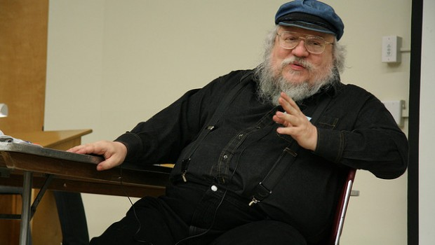 """A researcher has applied advanced statistics to predict what characters will die in author George R.R. Martin's (pictured) """"A Song of Ice and Fire"""" book series."""