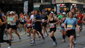 The Chicago marathon.
