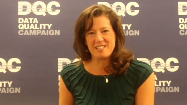 Paige Kowalski of the Data Quality Campaign