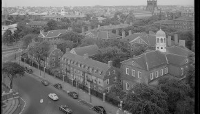 Harvard University, circa 1950