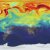 A visualization of global carbon dioxide levels.