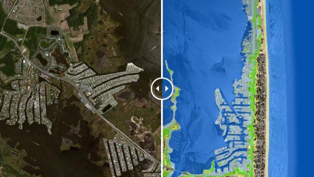 Delaware flood map
