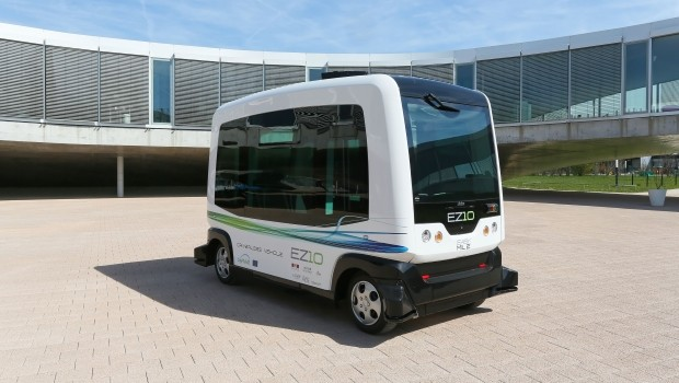 WePod self-driving electric shuttle