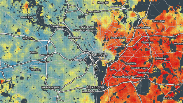 Center For Data Innovation Mapping Neighborhood Level Obesity In The United States