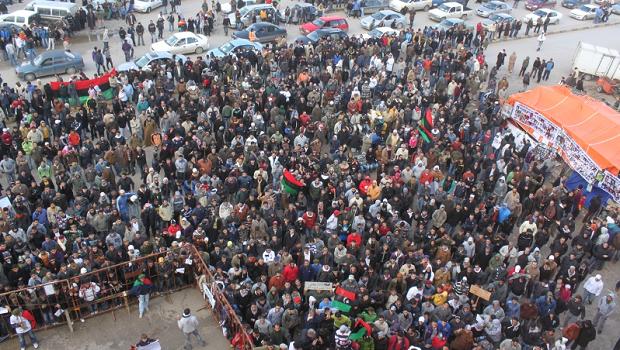Protest in Beghazi