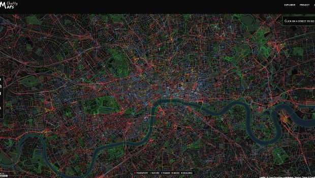Chatty Maps