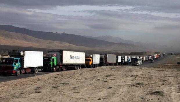 A Truck Platoon