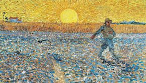 "Vincent Van Gogh's ""The Sower"""
