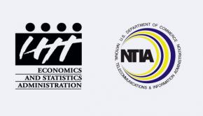 Logos for ESA and NTIA