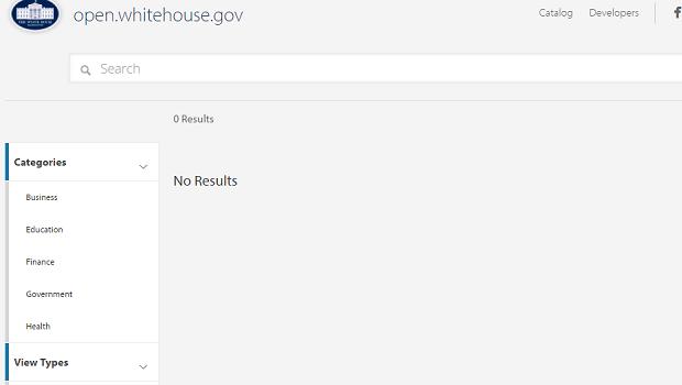 White House Open Data Portal