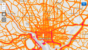 National Transportation Noise Map