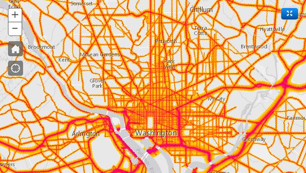 National Transportation Noise Map