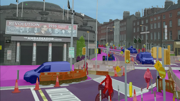 Street images for self-driving cars
