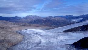 Nunavut ice sheet