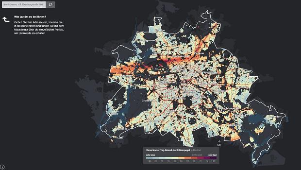 Berlin noise levels