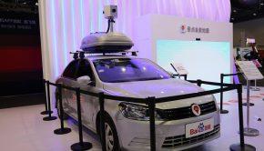 Baidu mapping car